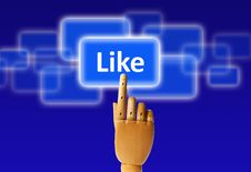 Free Like Button Stock Images - 20139684