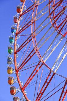 Ferris Wheel In Japan Royalty Free Stock Image