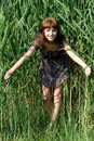 Free Girl Walking Outdoor Stock Photography - 20141032