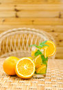 Free Glass Of Limonade With Oranges Stock Image - 20147161
