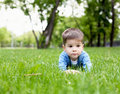 Free Portrait Of A Little Boy Outdoors Royalty Free Stock Photos - 20147378
