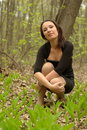 Free Girl In The Forest Royalty Free Stock Photo - 20148585