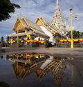 Free Thai Temple With Mirror Stock Images - 20149024