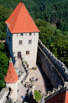 Free Medieval Castle Royalty Free Stock Image - 20140886