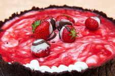 Free Strawberry Cake Royalty Free Stock Image - 20141016