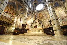 Free Duomo Of Siena Royalty Free Stock Images - 20141789