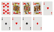 Free Playing Cards Stock Image - 20142401