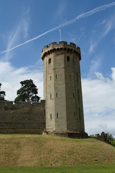 Castle Tower. Royalty Free Stock Images