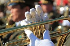 Military Parade Stock Photography