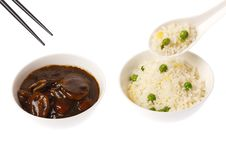 Chinese Meal Royalty Free Stock Photography
