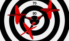 Free Hit The Bull S-eye Stock Photography - 20143832
