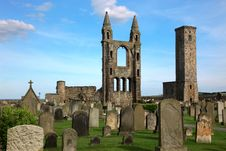 Free St Andrews Cathedral Royalty Free Stock Photo - 20143875