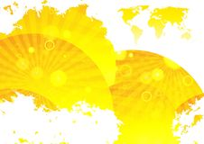 Free Abstract Gold Background Royalty Free Stock Photo - 20144775