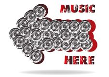 Free The Abstract Advertizing Of Music Stock Photos - 20144803