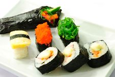 Free Closeup Japanese Sushi. Series Japanese Food Stock Photography - 20144822