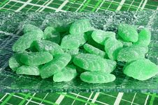 Free Green Mint Candies Stock Image - 20144891