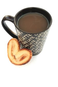 Free Coffee And Cookie Royalty Free Stock Image - 20144916
