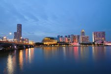 Singapore River Royalty Free Stock Photo