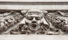 Free Bas-relief Man S Face Stock Photography - 20145542
