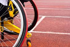 Free Wheelchair Sportsmen Stock Image - 20145621