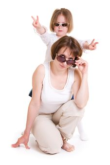 Free Mother And Daughter Stock Images - 20146064