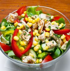 Free Chicken Salad Royalty Free Stock Photography - 20146647