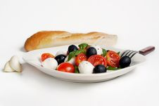 Free Salad Caprese Royalty Free Stock Photography - 20146667