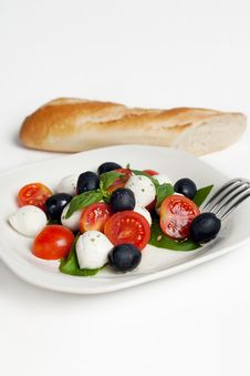 Free Salad Caprese Royalty Free Stock Image - 20146706