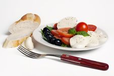 Free Salad Caprese Royalty Free Stock Photography - 20146717