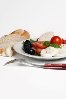 Free Salad Caprese Stock Photo - 20146730
