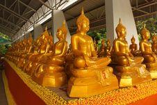 Free Golden Buddha. Royalty Free Stock Images - 20146909