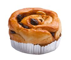 Free Raisin Bun Royalty Free Stock Photography - 20147167