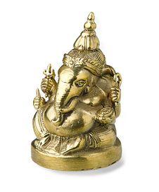 Golden Ganesh Royalty Free Stock Photography