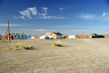 Free Village In Mongolia Royalty Free Stock Photos - 20147908