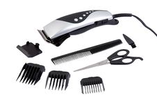 Free Hair Clipping Tool Set Stock Photo - 20147960