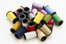Free Assorted Sewing Thread Stock Photo - 20148460