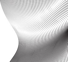 Free Soft Wavy Lines Black Waves Royalty Free Stock Photo - 20148985