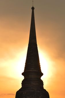 Free Ancient Chedi Monument Stock Photo - 20149370