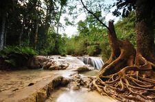 Free Peaceful Cascade Waterfall Stock Image - 20149701