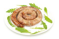 Free Ring Sausage Fried Royalty Free Stock Image - 20149876