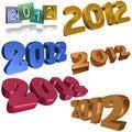 Free 2012 Symbols Stock Photos - 20153923