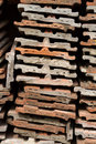 Free Heap Of Roofing Tiles Royalty Free Stock Images - 20154709