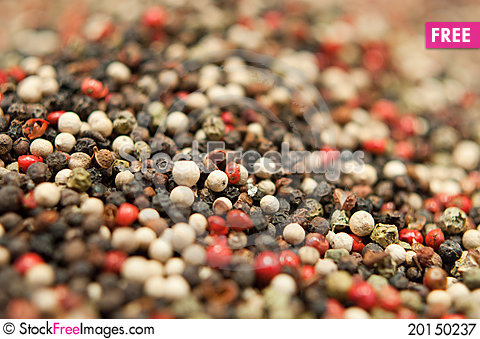 Mixed Pepper Stock Photo