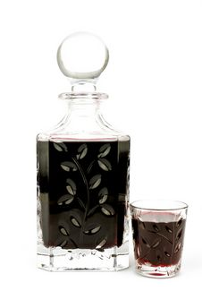 Free Alcohol In Carafe Stock Image - 20150191