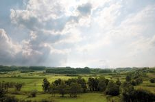 Free Forested Landscape Royalty Free Stock Photo - 20150355