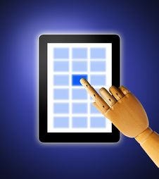 Free Touch Screen Royalty Free Stock Image - 20150516