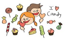 Free Colored Sweet Candy Stock Images - 20150864