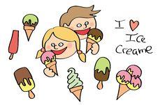 Free Ice Cream Royalty Free Stock Photos - 20150868