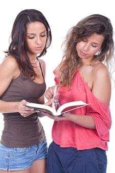 Free Women Reading A Book Stock Photo - 20150900