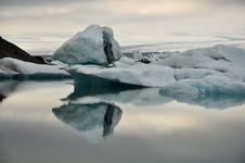 Floating Icebergs, Iceland Royalty Free Stock Image